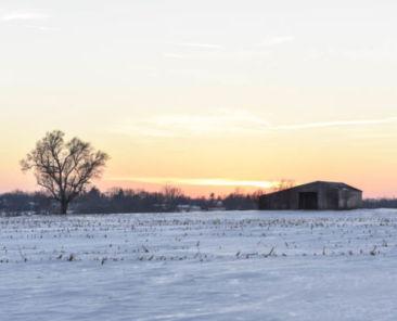 Wayne County sunset2