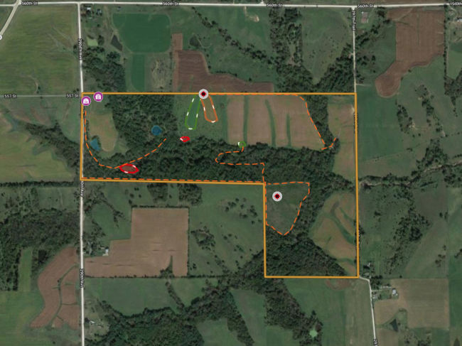Lucas County iowa land for sale