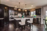Black Stained Kitchen Cabinets - Iowa Remodels