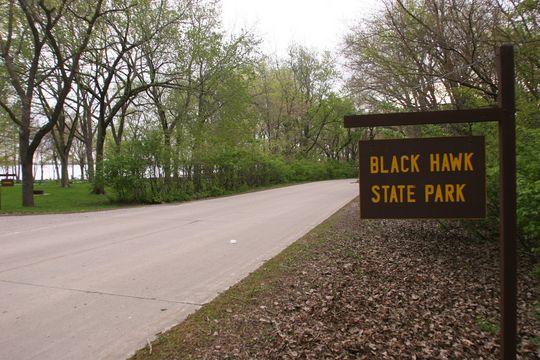 Campground Details  Black Hawk State Park IA  Iowa State Parks