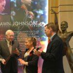Shawn Johnson Statue