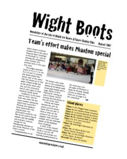 Wight Boots August 07