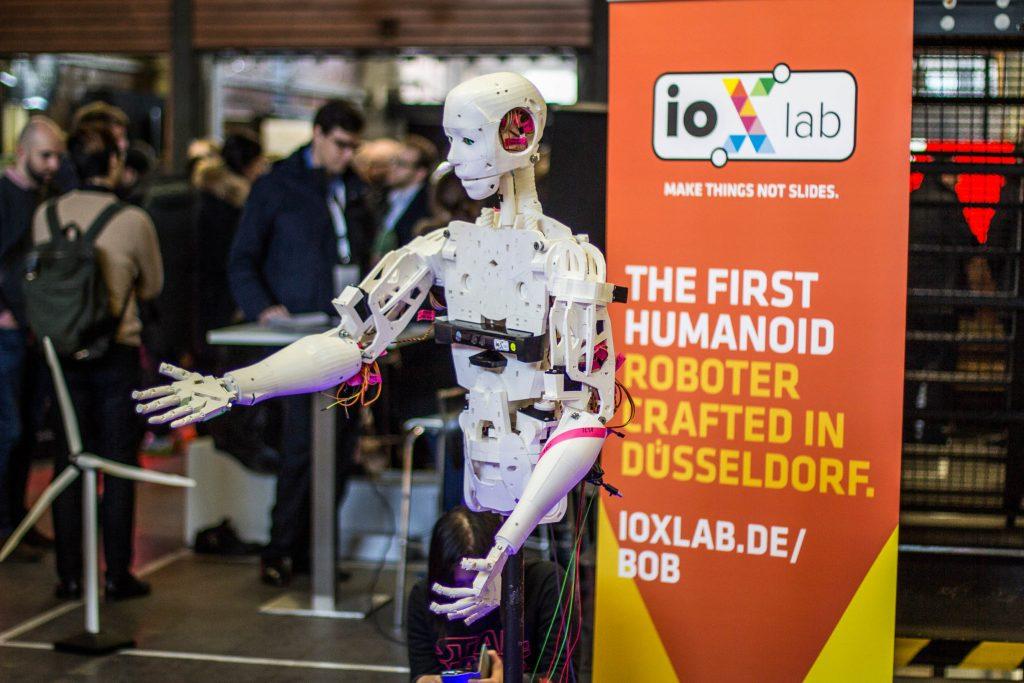 iox lab robot bob