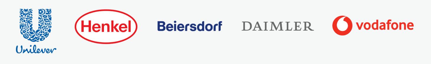 Kunden Logos in einem Bild grau neu
