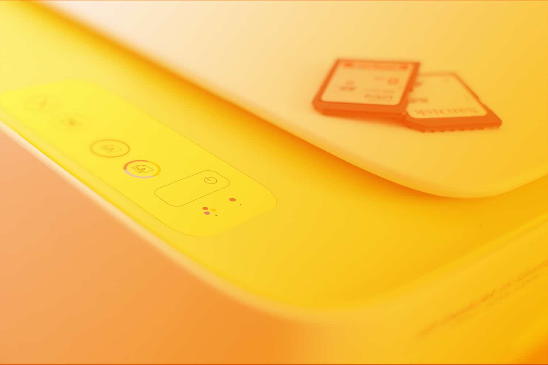 Zum Artikel WLAN Bestellknopf: Drucker mit SD-Karten
