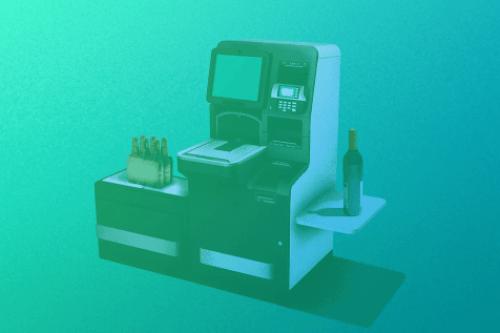 """Zum Artikel """"RFID Technologie sorgt für innovativen Self-Service"""": Selbstbedienbare Kasse"""