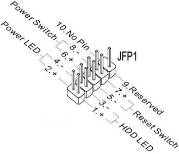 Usb 2 0 Motherboard Header Pinout