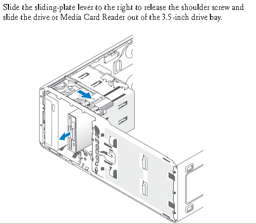 Solved: RE: change Precision T3500 Vertical DVD Drive to