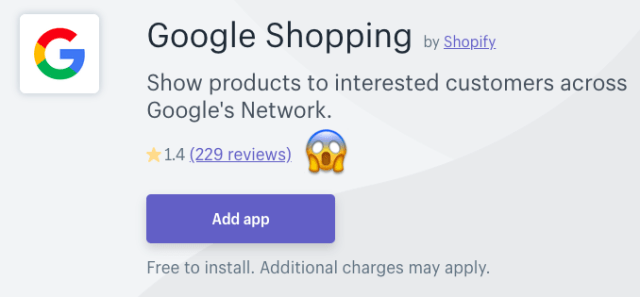 best shopify google shopping app