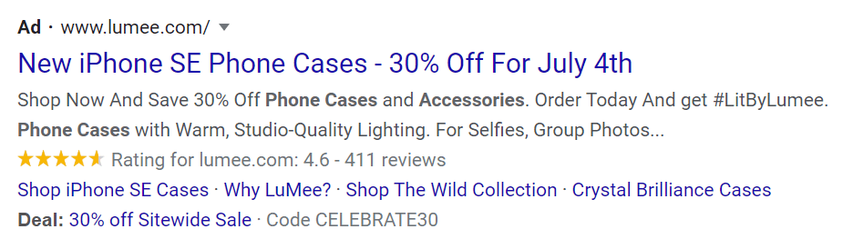 leverage discounts in google ads