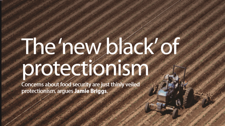 The 'New Black' Of Protectionism