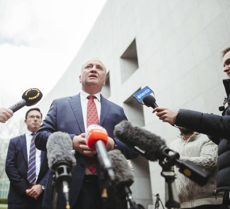 Joyce Returns The Mic To Quiet Australians
