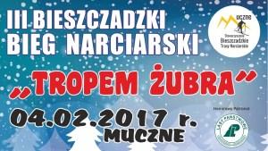 """III Bieszczadzki Bieg Narciarski """"Tropem Żubra"""""""