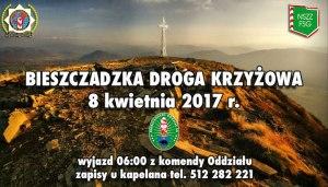 8 kwietnia 2017 r. – Bieszczadzka Droga Krzyżowa