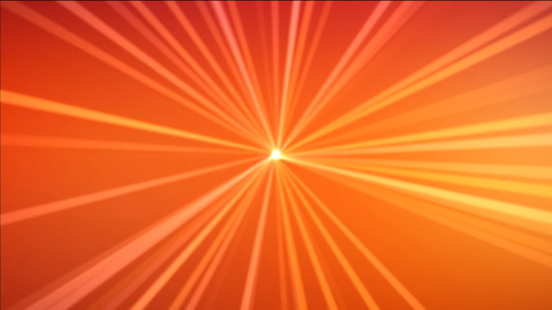 Abstract lights on orange background Video for intro