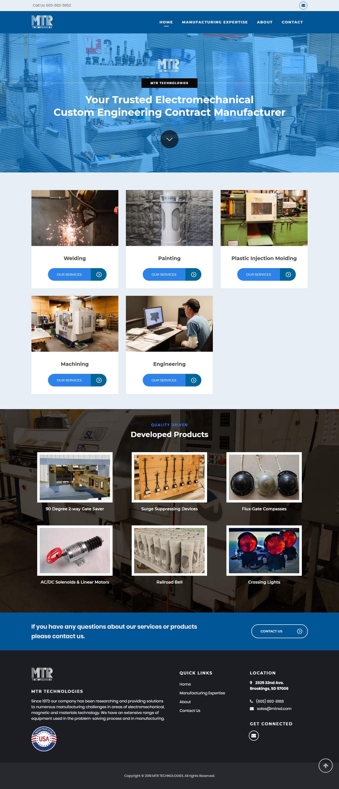MTR Technologies – IPacktechnologies