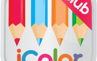 IColor Club Coloring book and pages for Adults iPA Crack