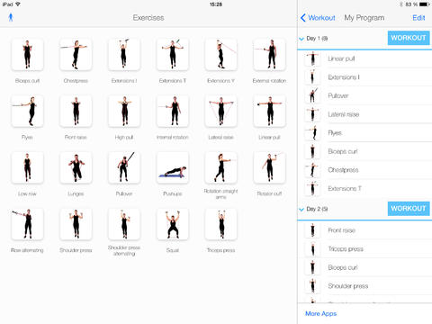 3 iPad Apps for Resistance Band TrainingiPad App Finders