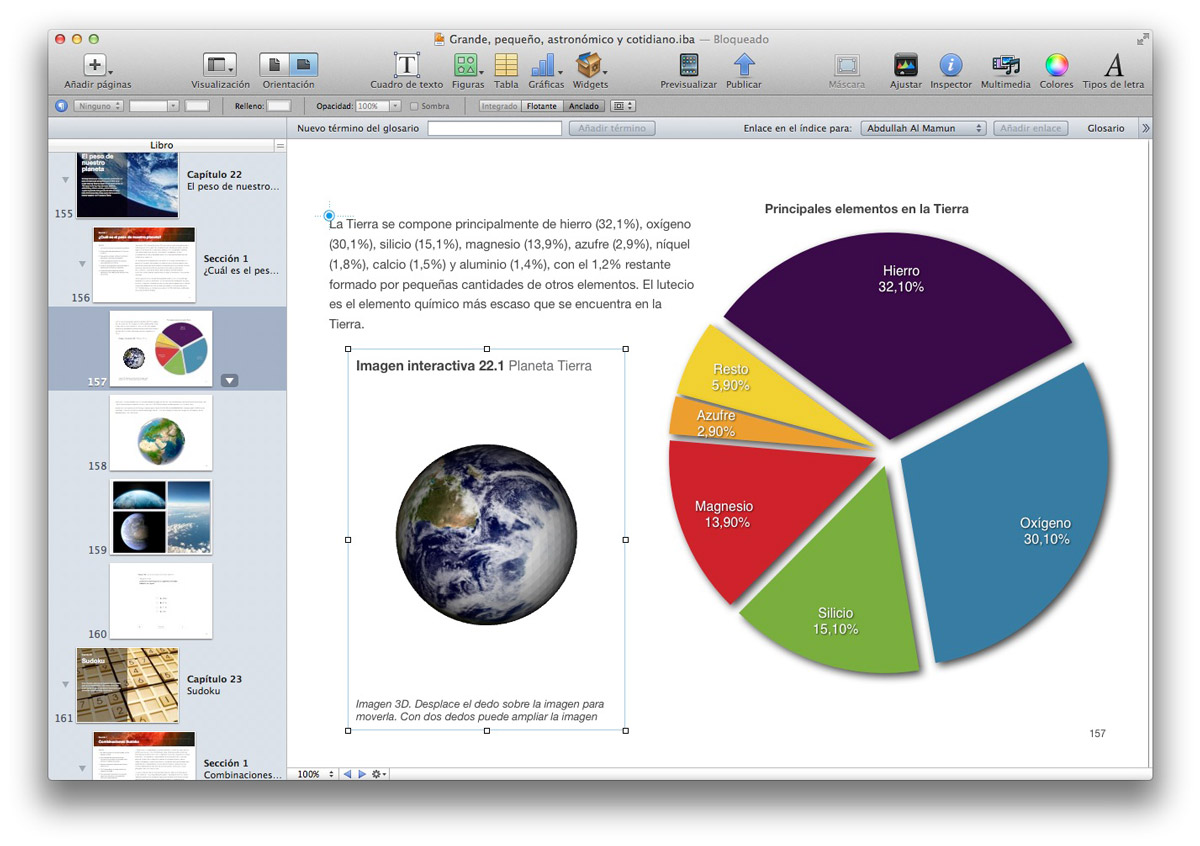 Crea tus libros interactivos y multimedia con iBooks Author