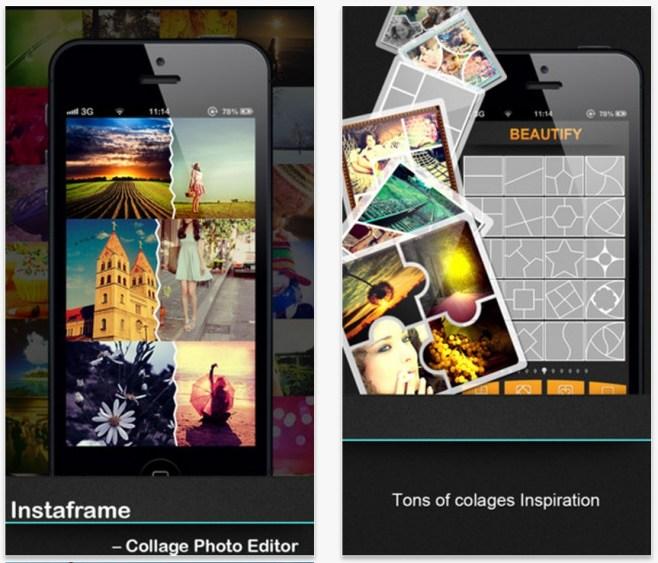 Crea espectaculares Collage desde tu dispositivo móvil