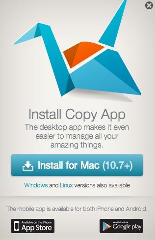 Copy pasa a ofrecer de 5 GB a 15 GB de almacenamiento gratuitos en la nube