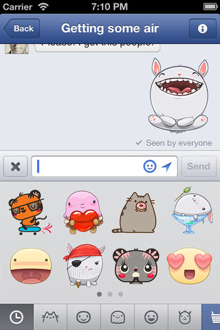 Facebook Messenger recibe una nueva actualización, la 2.4