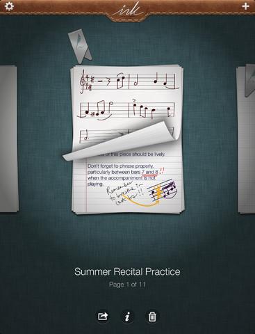 Un bloc de notas y dibujo para tu iPad
