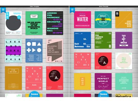 Phoster, diseña fácilmente tus pósters y carteles