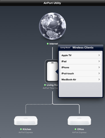 Utilidad AirPort se actualiza a la versión 1.3