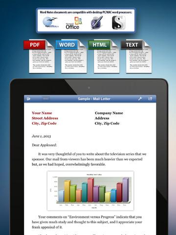 Gestiona tus documentos de Microsoft Word y OpenOffice en tu iPad