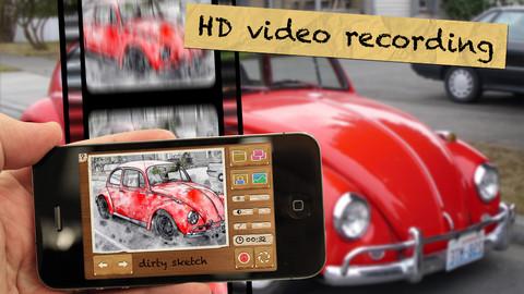 Convierte tus imagenes en dibujos con Pencil Camera HD