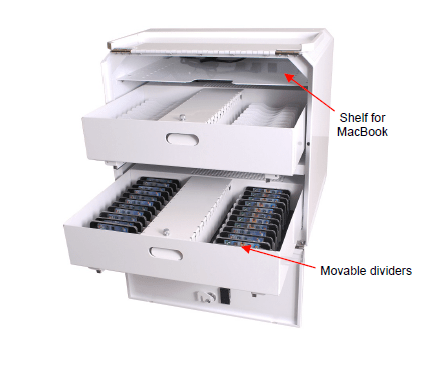 DS-MDM-SC-16UiPad pull-out tray with iPads