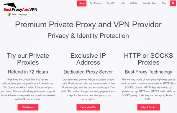 Best Proxy and VPN