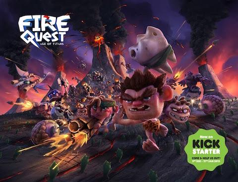 Fire Quest: Este juego con mucha tecnología de por medio busca financiación en KickStarter