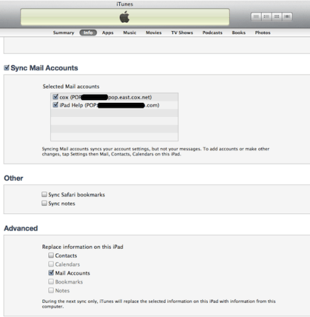 how to add email account to ipad mini