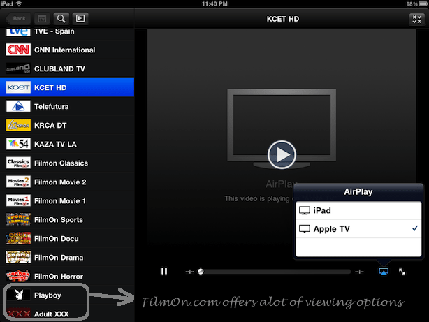 how to connect ipad to apple tv airplay video