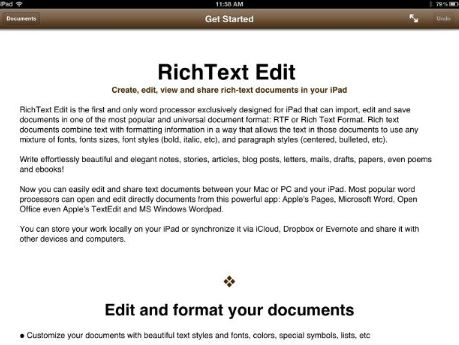 How to Send Rich Text Emails on iPad