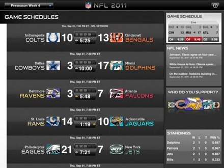 NFL 11 for iPad  Live draft coverage and more