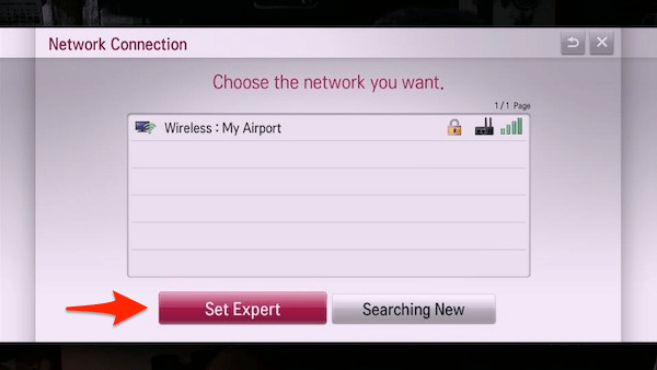 LG TV Won't Save WiFi Network and Password Settings