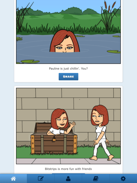 bitstrips sample strip
