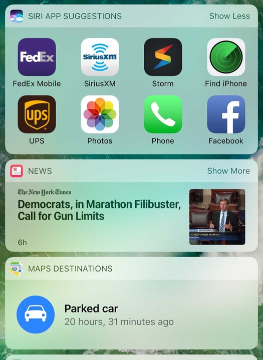How to Use Today Widgets on iPhone 7 and iPad Air on iOS 10