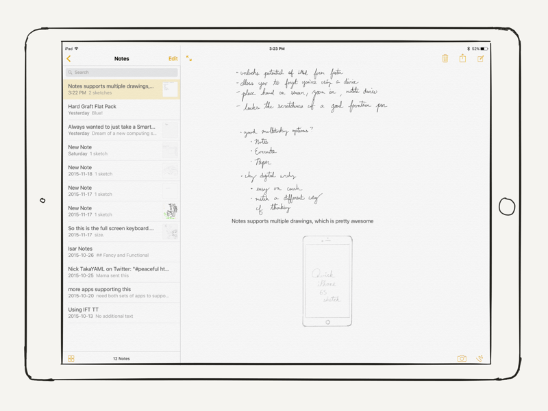 The Apple Pencil Enhances Note-Taking On The iPad Pro