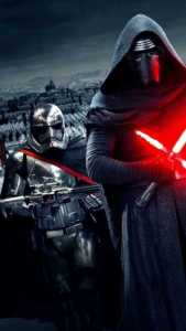 Star-Wars-The-Force-Awakens-Wallpaper-Kylo-Ren-Captain-Phasma-576x1024