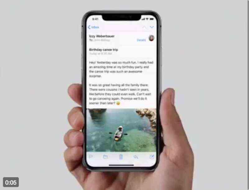 iPhone Xの操作方法の動画(タスクスウィッチャー・アプリの終了・Siri・コントールセンター)