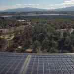 完成時近づいたApple Parkの空撮動画(2017年11月撮影)