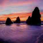 美しい夕暮れ時の風景を使ったiPhone用壁紙7枚