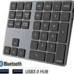【Amazon タイムセール】モバイル林檎セレクト 「SEENDA Bluetoothテンキー ワイヤレス 2ポートUSB3.0 HUB 付き 34キー」など全12品(2020年6月27日)①