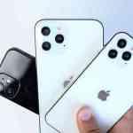 iPhone 12のモックアップ、5.4インチモデルは初代iPhone SEにつぐ最小サイズ