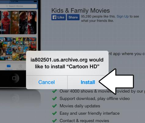 cartoon hd movie app for iphone