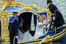 Royal Crown Princess Victoria of Sweden Wedding